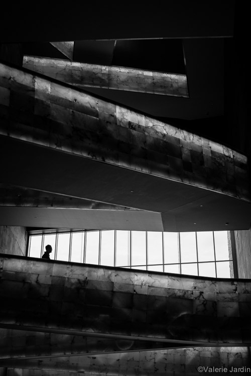 A minimalist approach to photographing a silhouette can make for a strong image.