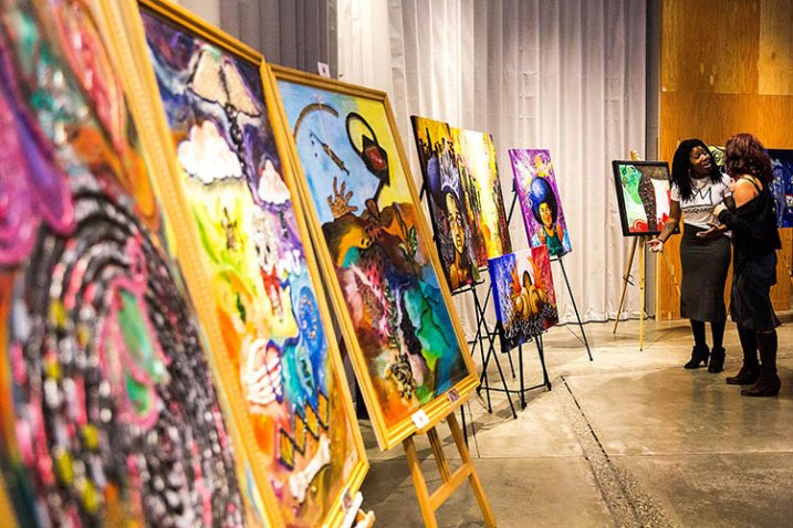 2nd Annual Through the Eyes Of Art Event And The Value Of Black Life Concert