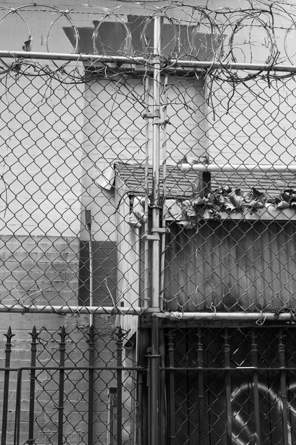 Fence, East Village, NYC.