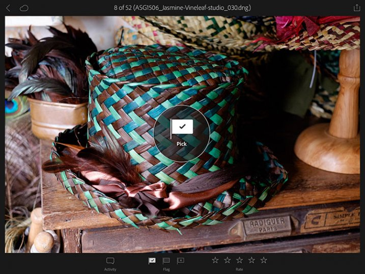 Lightroom mobile and Lightroom web