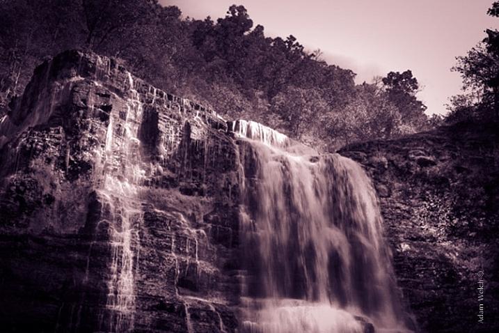 Sepia Waterfall (2)