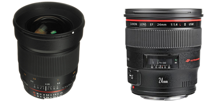 Astrophotography Lens Choices