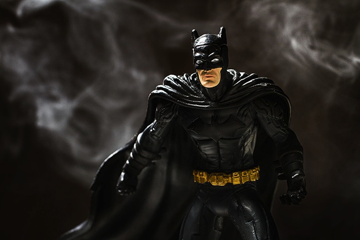 Learn lighting with toys batman