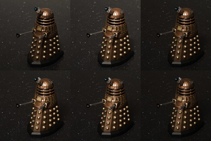 Learn lighting with toys dalek 2785