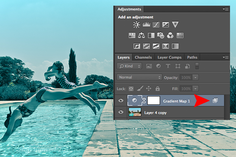 Layer-with-blending-options
