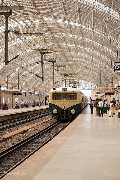 Memorable Jaunts Urban Photography Article for Digital Photography School Chennai Train Station
