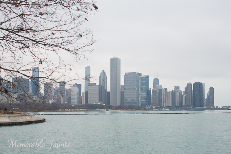 Memorable Jaunts Urban Photography Article for Digital Photography School Downtown Chicago Skyline as seen from Museum campus