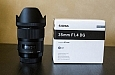 Sigma 35mm f/1.4 lens review