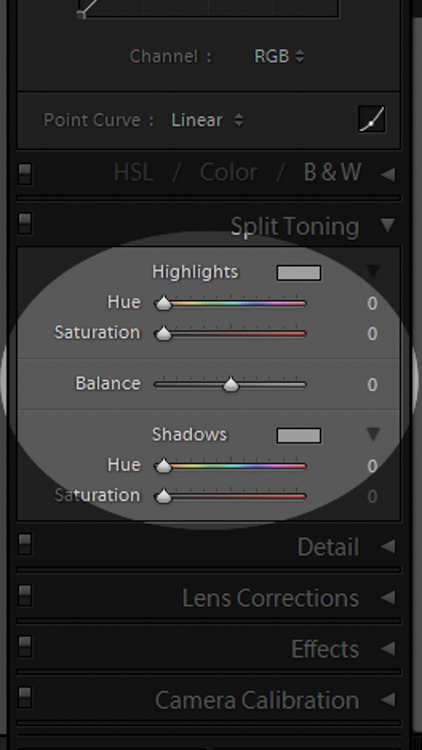 Split Tone Panel 2