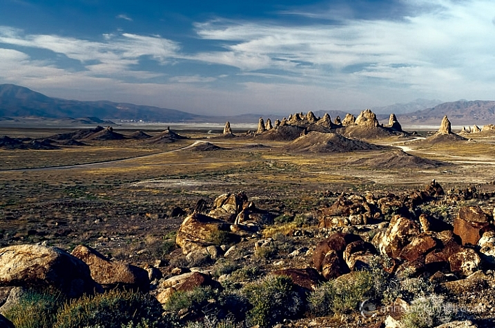 Trona Pinnacles, California, by Anne McKinnell