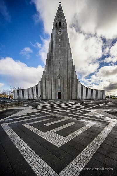 Hallgrimskirkja, Reykjavik, Iceland, by Anne McKinnell
