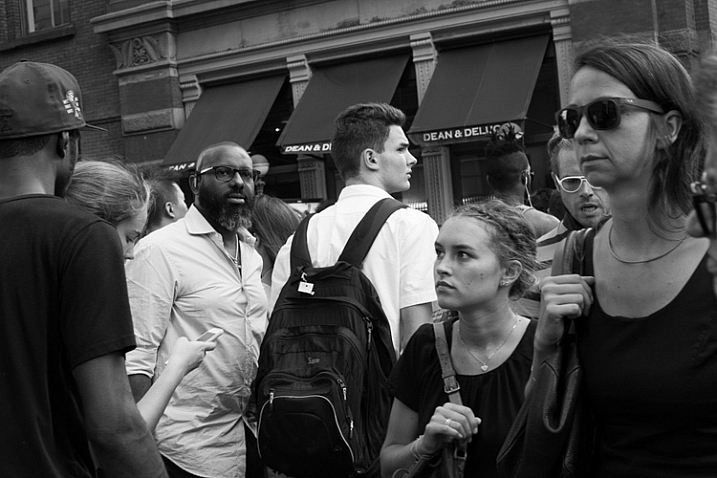Street Corner, SoHo, NYC.