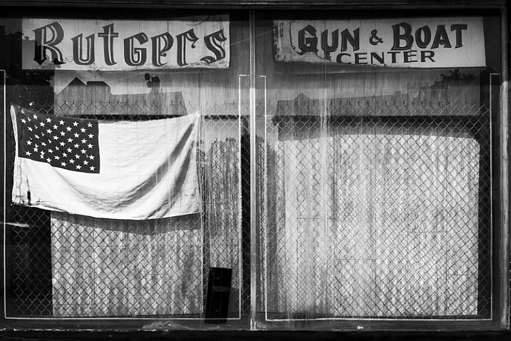 Shop Window, Rutgers, New Jersey by Neil Persh