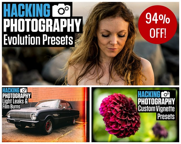 104 Brand NEW Hacking Photography Lightroom Presets for $10 [Save 94%]