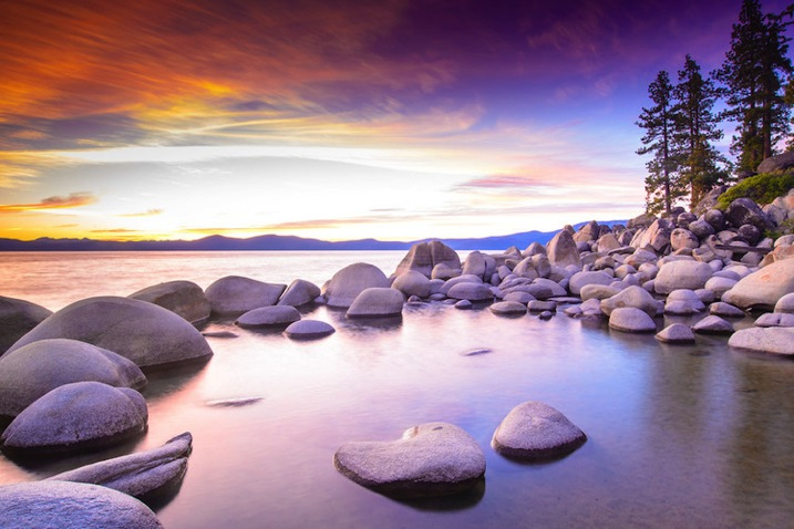Lake Tahoe Sunset Nevada Jkatzphoto