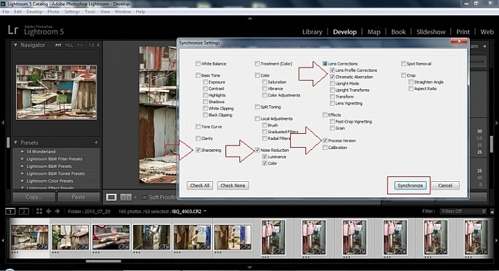 2015.09.25 Street Editing Tips Lightroom 016 sync check which apply