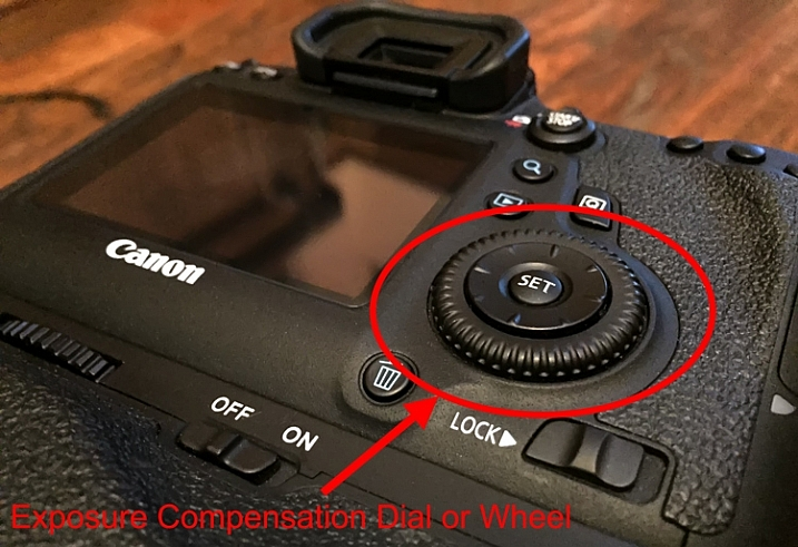 how to use exposure compensation nikon