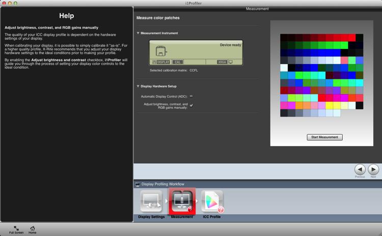 Calibrating your screen 04