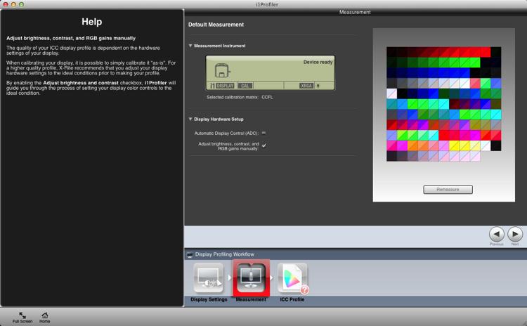 Calibrating your screen 08