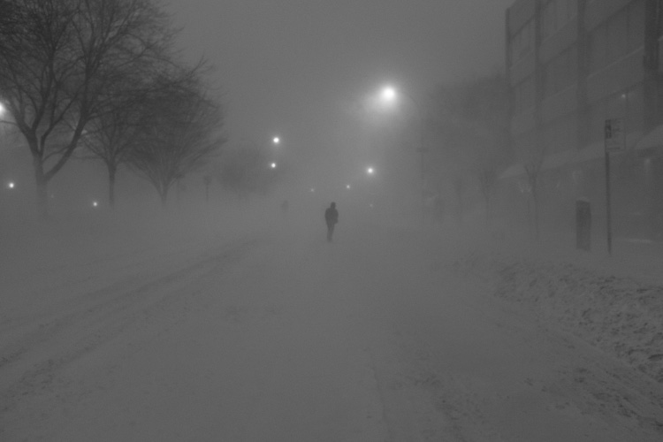 Lower East Side Snowstorm