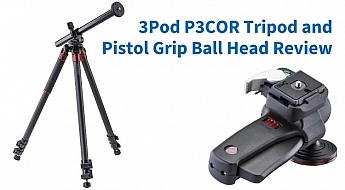 Review_ 3Pod P3COR Tripod and Pistol Grip Ball Head