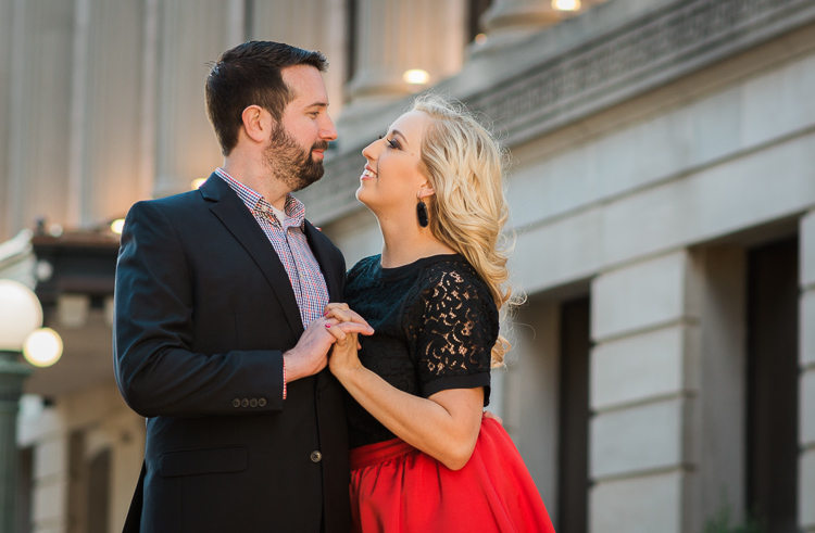 relaxing-for-portrait-session-couple-downtown