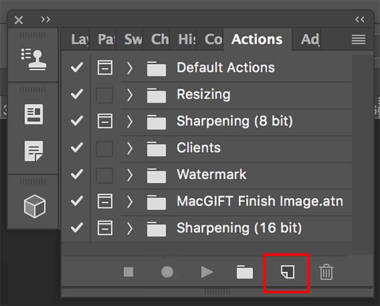 Photoshop bulk resizing edits