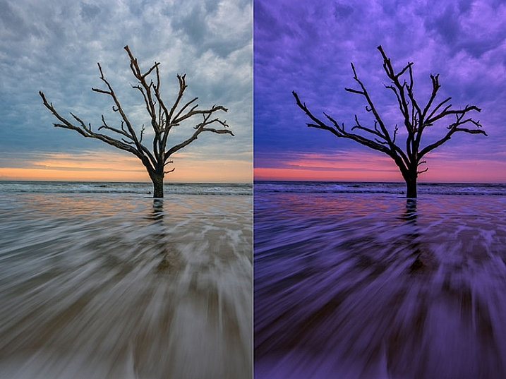 Before and after comparison of Macphun FX Photo Studio CK