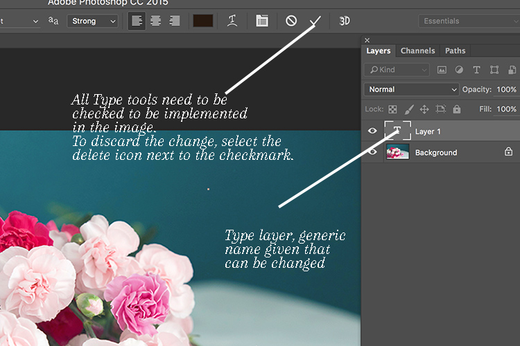 Memorable Jaunts Article for DPS Text tool in Photoshop basics 04