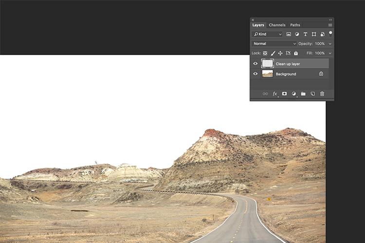 Memorable Jaunts Landscape Image cleaned using healing brush tools Artcile for DPS 06