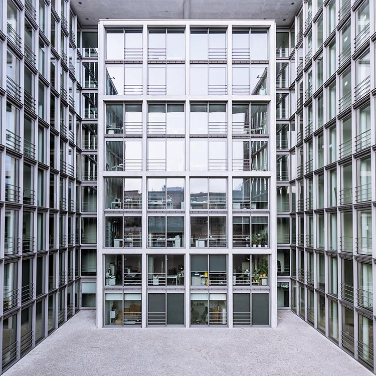 Bürogebäude des Deutschen Bundestages in Berlin,, Deutschland.
