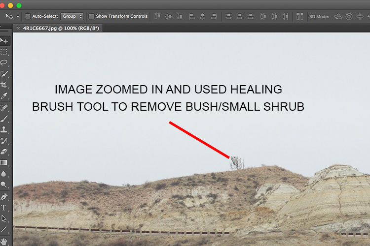 How to Use the Healing Tool in Photoshop 1