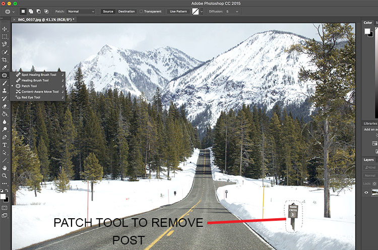 How to Use the Healing Tool in Photoshop 2