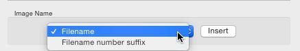 File naming in lightroom 5