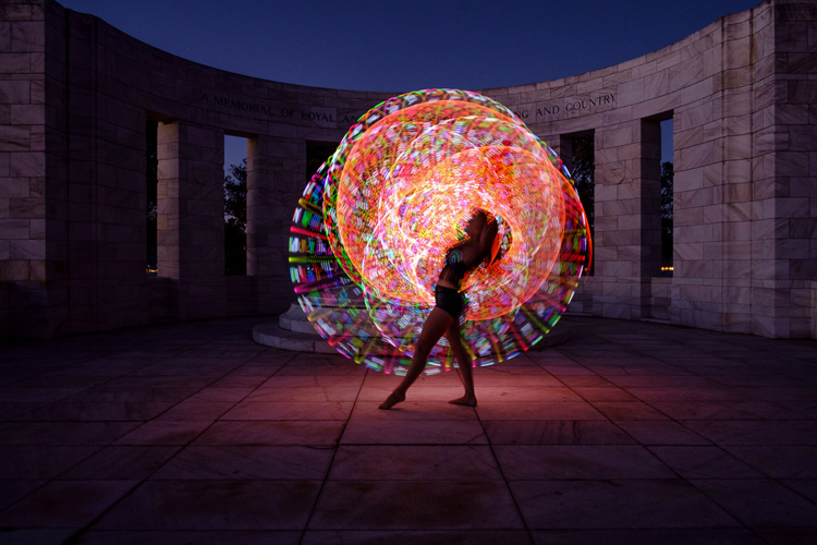 How to Create Beautiful Light Painting Images With an ...