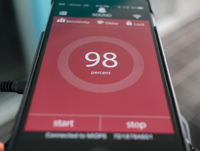 The accompanying MIOPS smartphone app is a highlight of the system, and allows you to control everything remotely.