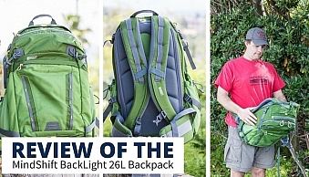 Review of the Mindshift Backlight 26L