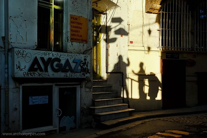 Greeting Shadows