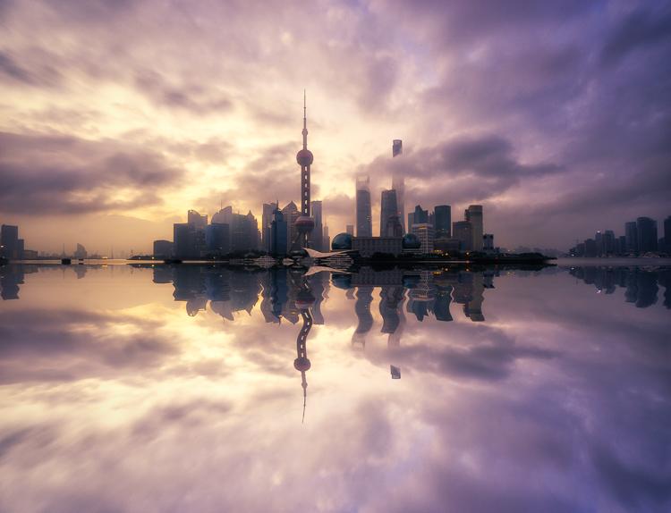 Pudong Shanghai Cityscape