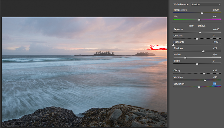 How to Use Adobe Camera Raw and Photoshop to Make Your Landscape Images Pop 3