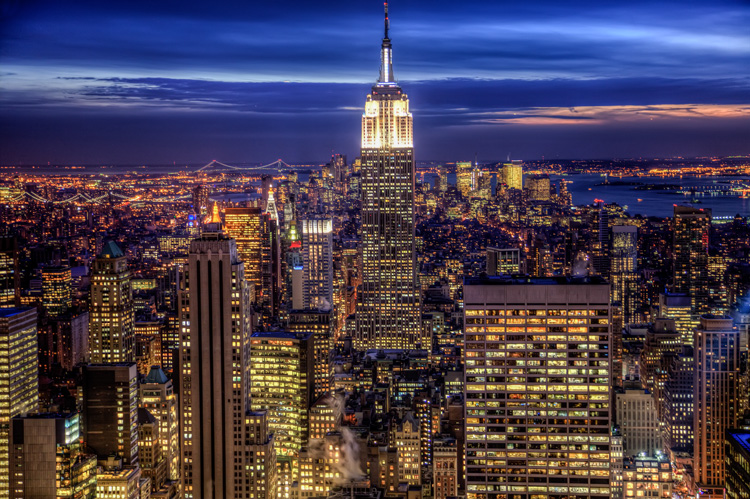 New York, from Rockefeller Center (Top of the Rock)
