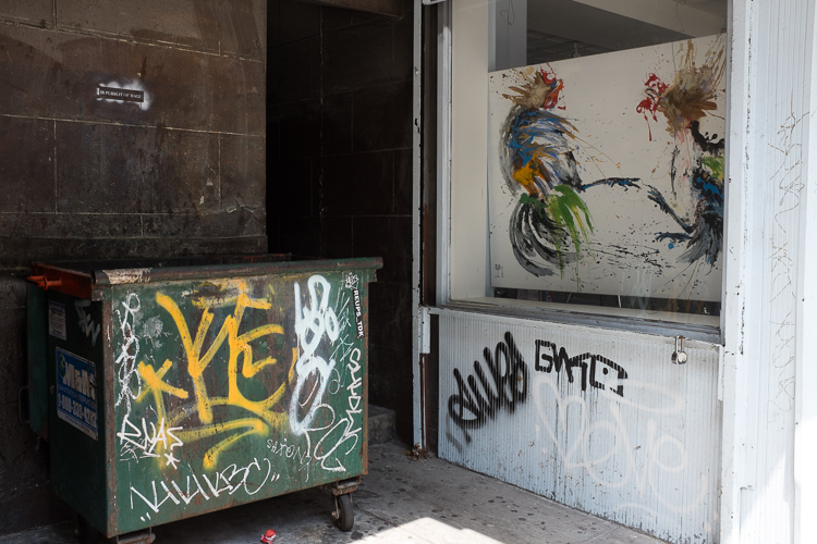 Graffiti and Gallery, 14th Street.