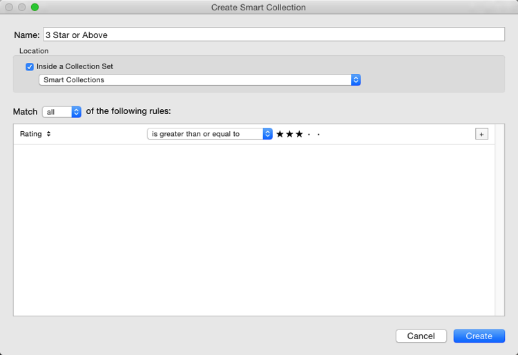 Creating and using smart collections in lightroom 4