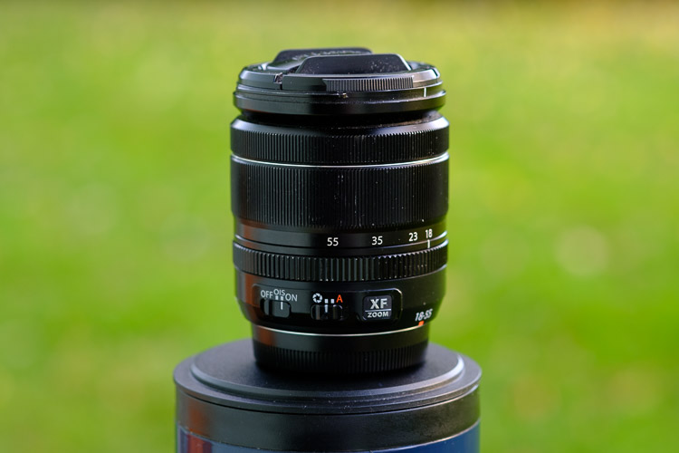 My well loved and used XF18-55mm kit lens from Fuji
