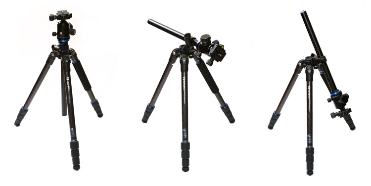 leannecole-benro-tripod-different-positions