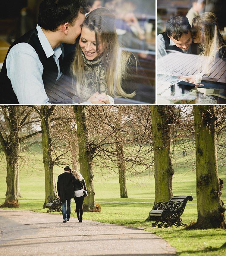 romantic portraits of couples