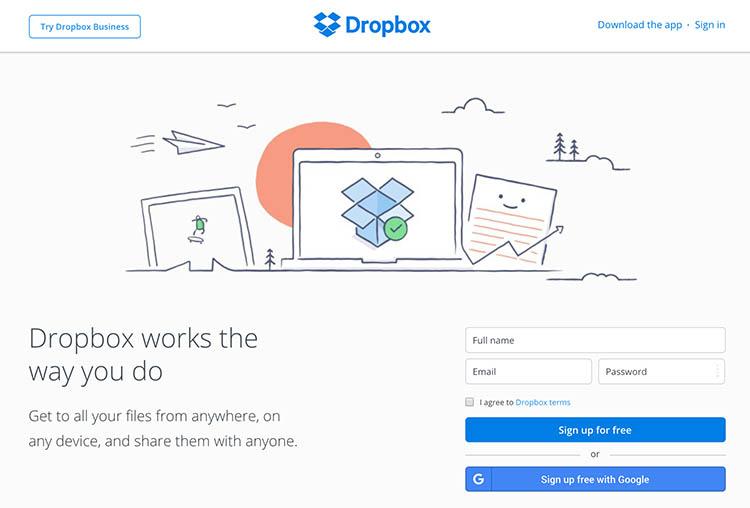 dropbox-online-photo-backup