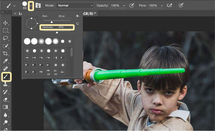 how to add abackdroung into photoshop