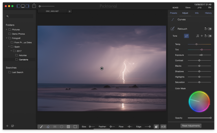 First Impressions Of Picktorial Raw Image Processing Software