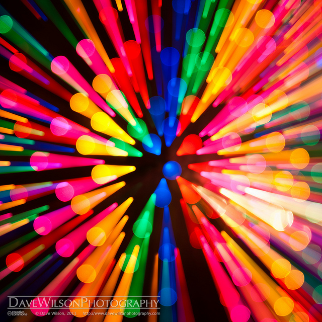 21 Abstract Images of Christmas Lights